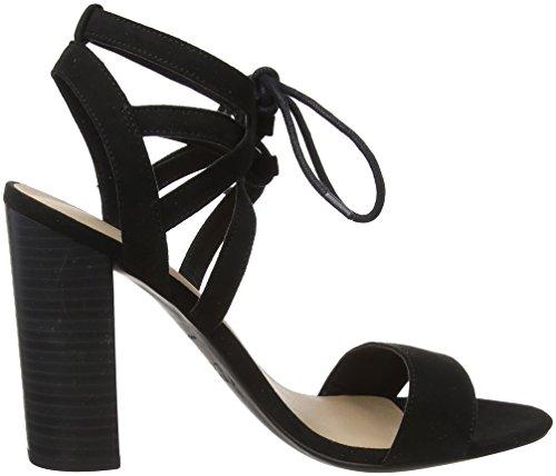New Look Oaker, Escarpins Bout Ouvert Femme Noir (Black 1)