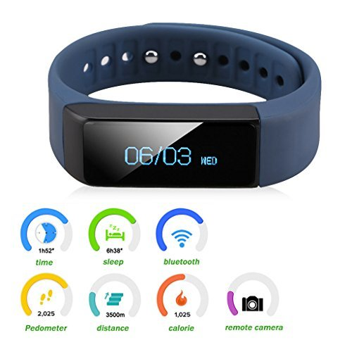 Free Smart Bracelet Fitness Tracker Smart Watch Sports Trend United i5 Plus Bluetooth For Smartphone Pedometer Tracking Calorie Health Sleep Monitor.
