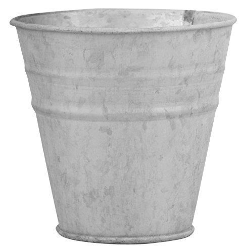 Esschert Design OZ50 Zinc Flower Pot, - Flower Zinc Pot