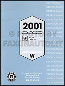 [DIAGRAM_38ZD]  2001 Buick Regal and Century Wiring Diagram Manual Original: Buick:  Amazon.com: Books   2001 Buick Regal Wiring Diagram      Amazon.com