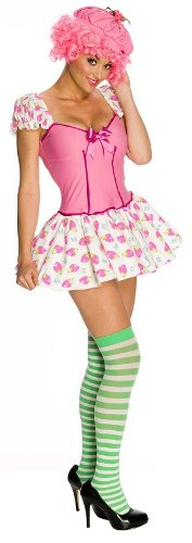 80s Movie Group Costumes (Raspberry Tart Adult Costume - X-Small)