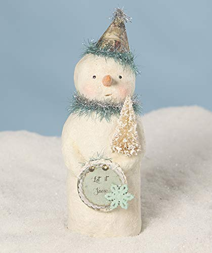 Bethany Lowe Designs Party in Blues Snowman