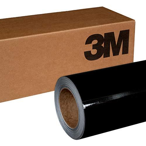 - 3M 1080 G212 Gloss Black Metallic 5ft x 6ft (30 Sq/ft) Car Wrap Vinyl Film