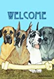 Great Danes – Pipsqueak Productions Large Flag For Sale