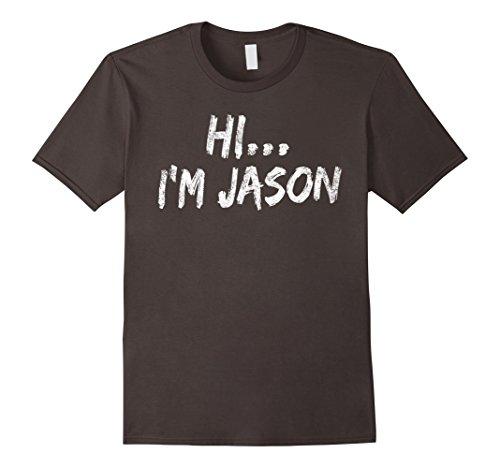 Mens I'm Jason: Scary Horror Halloween T-Shirt, Funny Costume XL (Jason Scary)