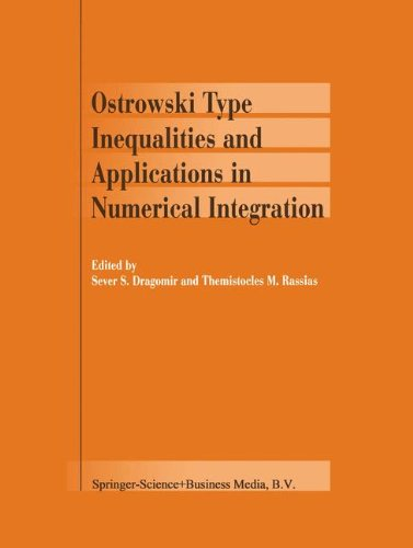 Download Ostrowski Type Inequalities and Applications in Numerical Integration pdf epub