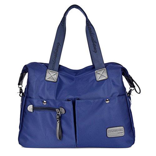 Urmiss Large Multifunction Waterproof Crossbody Bags Vintage Laptop Messenger Bag Daily Hobo Tote