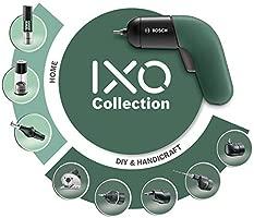 Bosch Atornillador a Batería IXO Set, 6.a Generación, Recargable con su Estación de Carga o Cable Micro-USB, Regulación de la Velocidad, en Caja, ...