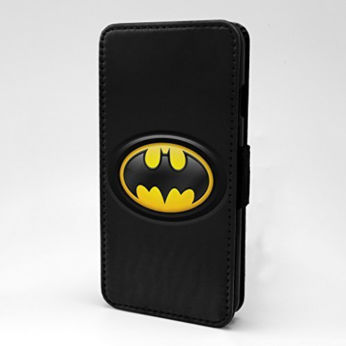 Marvel Superhelden Comics bedruckt Telefon Flip Case Hülle für Apple iPhone 7 & 7S - Batman - s-t1178