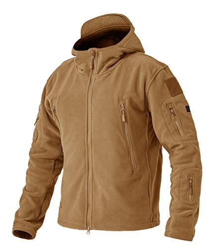 EKLENTSON Men's Military Fleece Jackets Zip Up Hoodies Windbreakers Warm Hiking Camping Hunting Taatiacl Winter Coats…