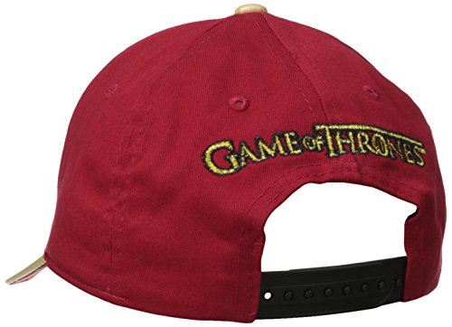 Game Of Thrones Hear Me Roar Embroidered Badge Snapback Baseball Cap