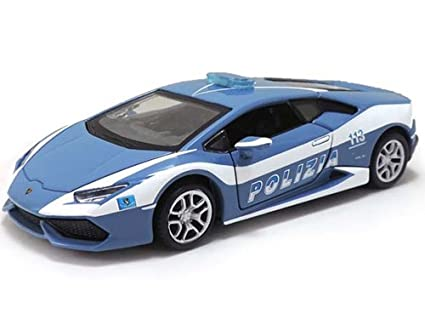 Amazon Com Maisto Lamborghini Huracan Lp610 4 Police 1 24 Model Car