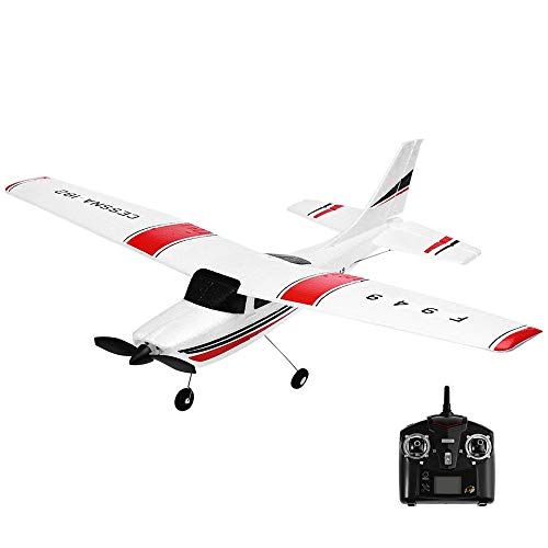 Jeeke RC Airplane Brushless Motor RC Glider F949 2.4G 3CH Remote Control Cessna-182 High - 182 Brushless Cessna