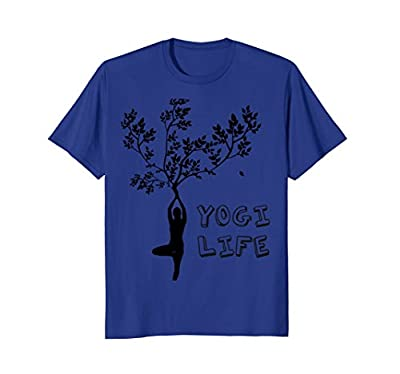 YoniYogi Brands Yoga Sport Treepose shirt