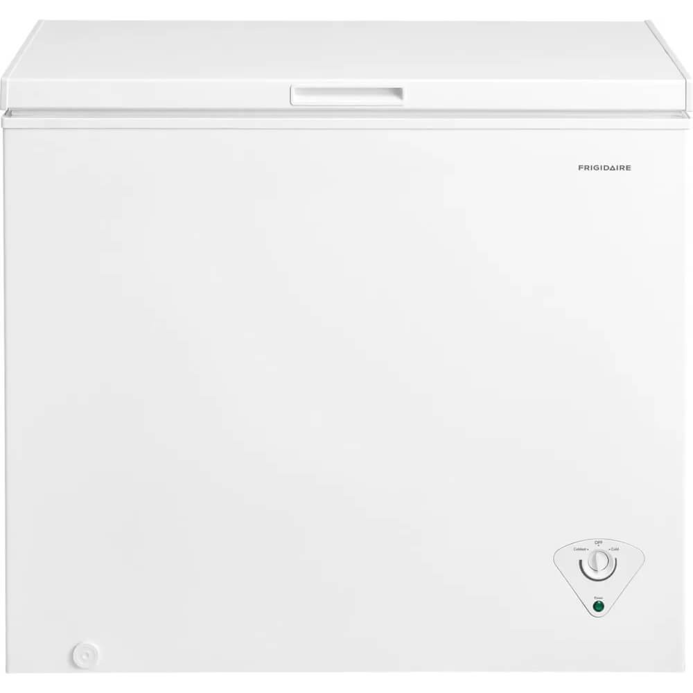 Frigidaire FFFC07M1TW 38 Inch Freezer with 7 cu. ft. Capacity, White Door, Manual Defrost, Power-On Indicator Light, CSA Certified in White