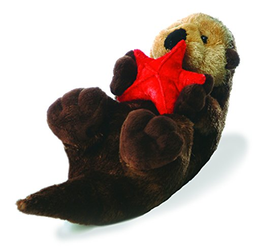 Aurora World Flopsie Plush Cali Otter, 12