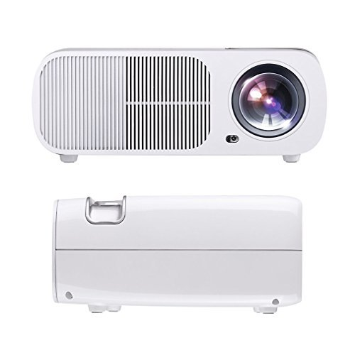 - Video Projector ,LESHP 1080P HD Home Cinema Theater Multimedia Office Projector 2600 Lumens Efficiency Backyard Outdoor LCD Support Laptop Xbox VGA USB HDMI for iPad iPhone Android Smartphone TV