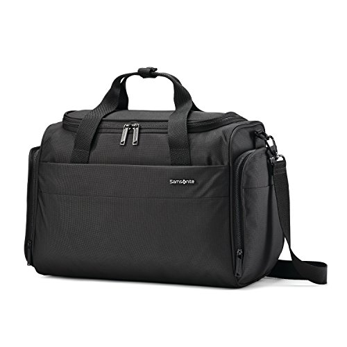 (Samsonite Flexis Travel Duffel Bag Overnight, Jet Black, One Size)