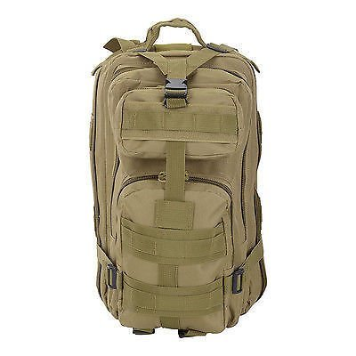 30L Hiking Camping Bag Army Military Backpack Sport Outdoor Travel Bag  (Mud) Free 3in1 0e0b69982064e