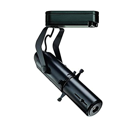 "WAC Lighting H-LED009-CW-BK Ledme - 9"" Track LED Framing Projector, Track Options: H Series Track, Color Temperature: 4000K - Cool Light"