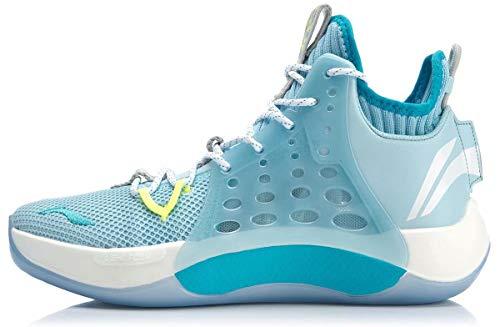 LI-NING CJ McCollum Sonic Ⅶ Men Professional Basketball Shoes Light Foam Breathable Lining Sport Shoes Sneakers Blue ABAP019 US 9.5
