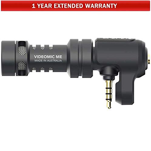 Rode Microphone Preamp (VIDEOMICME) + 1 Year Extended Warranty Bundle