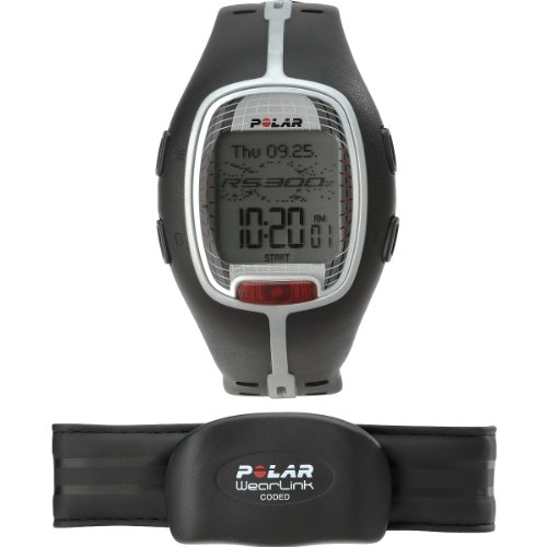Polar Rs300x Heart Rate Monitor Watch(black) by Polar