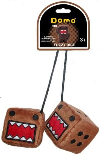 Domo Kun: Fuzzy Dice Plush