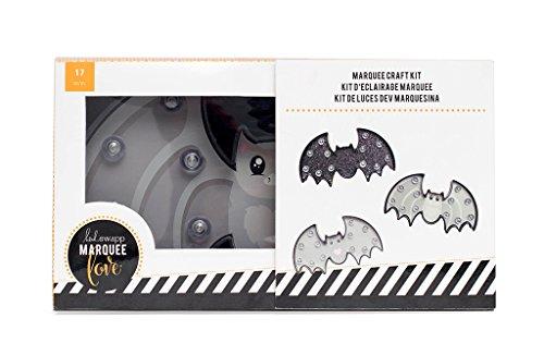 American Crafts Heidi Swapp Marquee Kit Halloween Plastic (Halloween Bats Arts And Crafts)