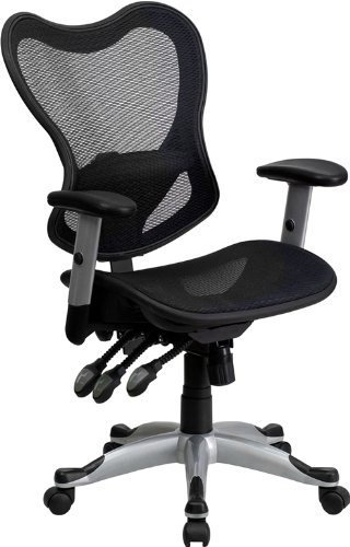 mid-back-black-mesh-executive-swivel-office-chair-with-triple-paddle-control