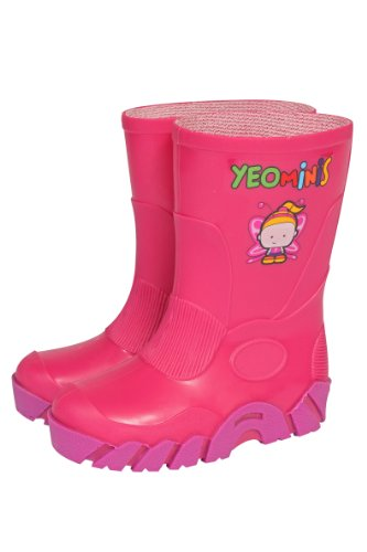 Yeominis Size 10 Wellingtons - Pink