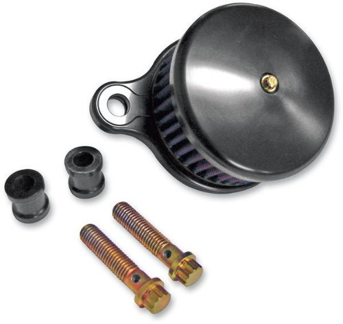 Joker MacHine High Performance Air Cleaner Assembly Smooth Blk Ano H-D XL 07-12