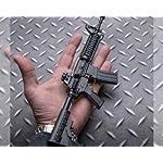Ghost Modèle réduit d'arme factice-Maquette décorative en métal avec Support de présentation-A Collectionner : kit n°1… 10