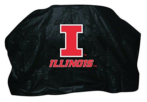 NCAA Illinois Fighting Illini 68-Inch Grill Cover