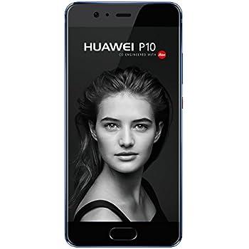 Huawei P10 VTR-L29 64GB Single-SIM Factory Unlocked 4G (Dazzling Blue) - International Version