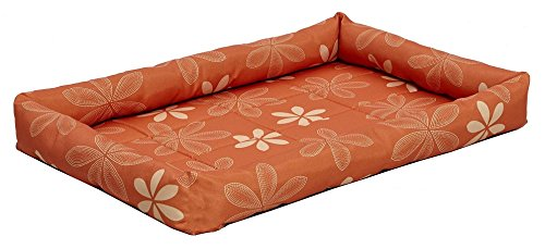 midwest-homes-for-pets-paradise-floral-with-teflon-fabric-protector-22-inch-orange