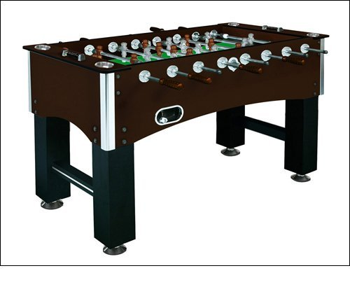 Carmelli NG1035 Primo 56'' Foosball Table Featuring Solid Steel Chrome Plated Rods with EZ Spin Bearings and Counter-Balanced ABS Players for Aggressive