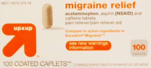 Up and Up Migraine Relief 100ct Compare to Excedrin Migraine
