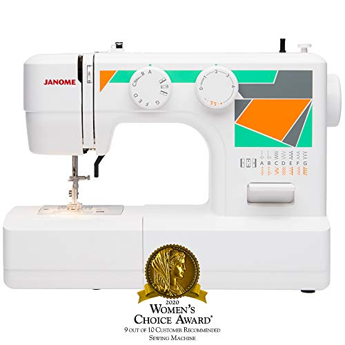 Janome MOD-15 Easy-to-Use Sewing Machine with 15 Stitches
