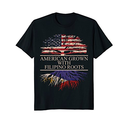 American grown with Filipino Roots T-Shirt