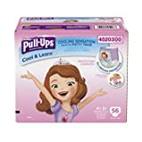 Health & Personal Care : Pull-Ups Cool & Learn Training Pants for Girls, 4T-5T, 56 Count -Pack of 2