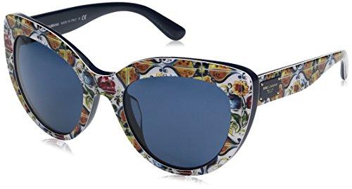Dolce-Gabbana-Womens-Acetate-Woman-Cateye-Sunglasses-Print-Majolica-on-Blue-53-mm