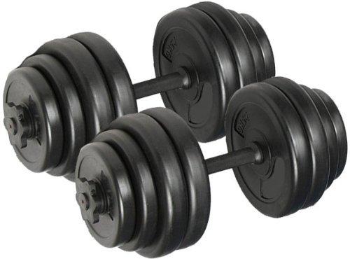 Body Revolution 30 kg Kurzhantel-Set mit Gratis Workout-Diagramm