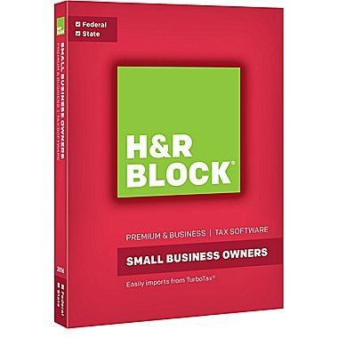 Most Software (H&R Block Premium & Business Tax Software 2016 Federal + State)