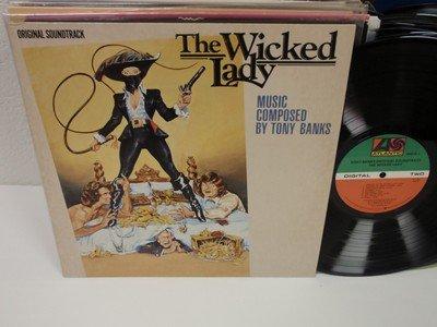 Tony Banks The Wicked Lady Lp Atlantic 7 80073 1 Ost Vinyl Album Vg