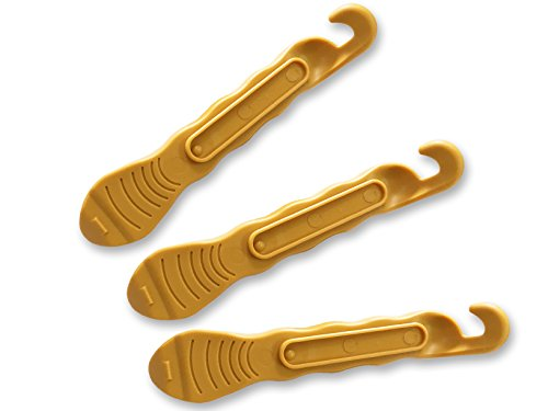 Spirit Halloween Promo Code (Bicycle Tire Lever - Gold - Set of 3 - Premium Hardened Plastic Levers to Repair Bike Tube)
