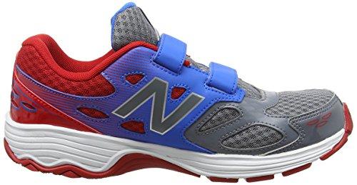 New Balance Kv680apy M, Zapatillas Unisex Niños Multicolor (Grey/blue)