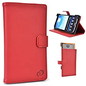 Kroo Universal Sony Xperia T2 Ultra dual HSPA C5322 XM50h (Sony Tianchi) Smartphone Cover / Phablet Case with Stand