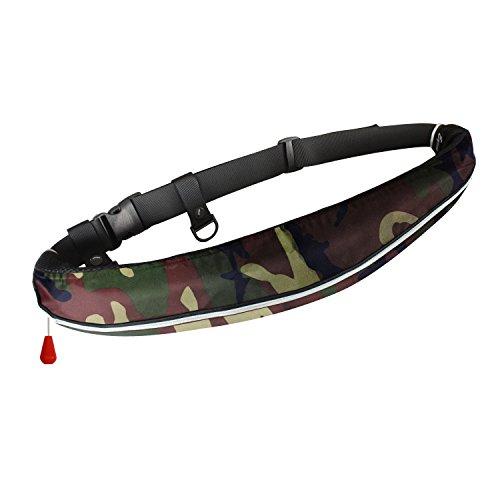 Eyson インフレータブルライフジャケット 自動/手動膨張式 救命胴衣 ベルトタイプ 釣り 9色から選択可 CE認証済の商品画像