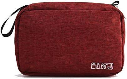 vin Rouge Funmo Portable Trousse de Toilette,Suspendre Sac de Toilette /étanche Accroch/é de Voyage Pliable Cosm/étique Sac Organisateur,Trousse de Toilette pour Homme et Femme